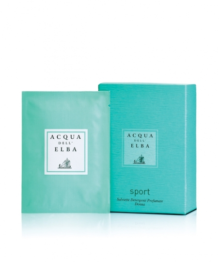 Perfumed Refreshing Wet Wipes • Sport for Him and for Her • 6 pcs