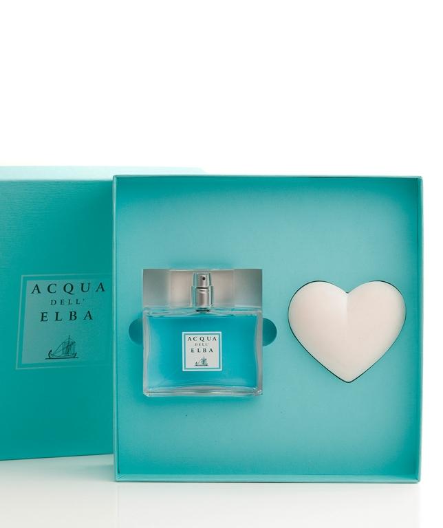 Verpackung  Eau de Parfum + Duftendes Herz • Classica Herrenduft • 100 ml