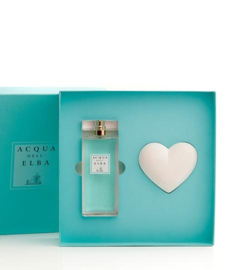 Confezione Regalo Eau de Parfum + Cuore Profumato • Classica Donna • 100 ml