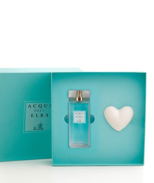 Confezione Regalo Eau de Parfum + Cuore Profumato • Classica Donna • 50 ml