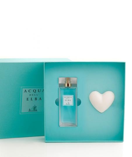 Verpackung  Eau de Parfum + Duftendes Herz • Classica Damenduft • 50 ml