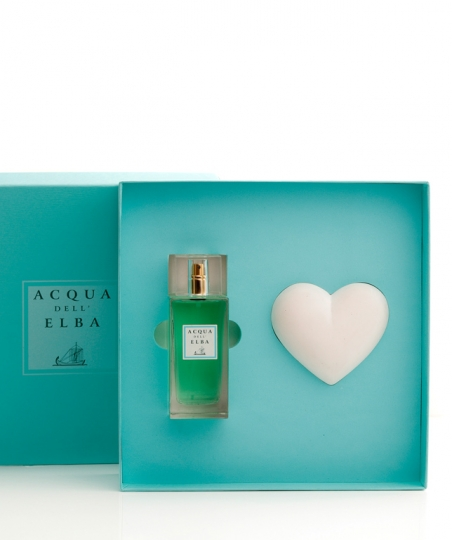 Confezione Regalo Eau de Parfum + Cuore Profumato • Arcipelago Donna • 100 ml