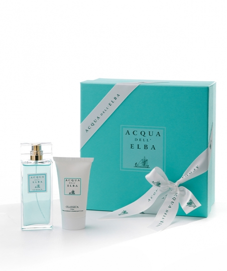 Gift Box Eau de Parfum 50 ml + Moisturising Body Cream 50 ml • Classica Fragrance Women