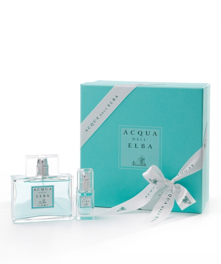 Gift Box Eau de Toilette 100 ml + Eau de Toilette 15 ml • Classica Fragrance Men