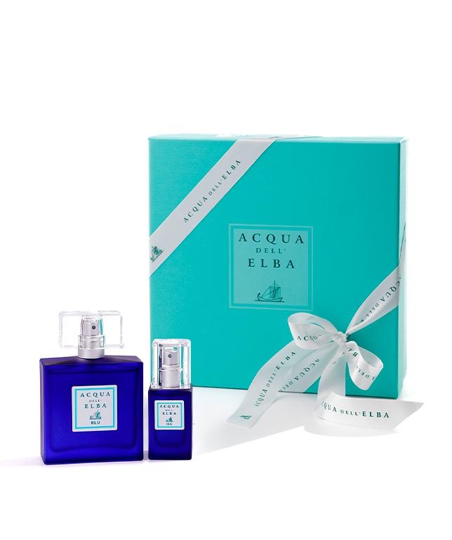 Paquet Cadeau Eau de Parfum 50 ml + Baume après rasage 50 ml • Blu Fragrance Homme