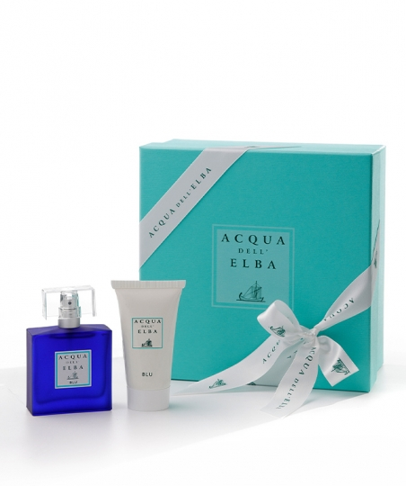 Gift Box Eau de Parfum 50 ml + Aftershave 50 ml • Blu Fragrance Men
