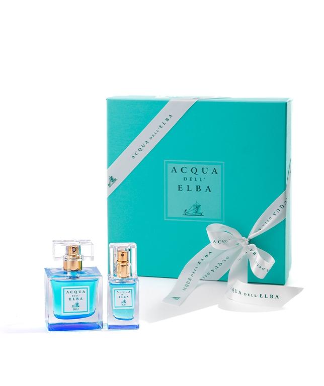 Confezione Regalo Eau de Parfum 50 ml + Crema Corpo Idratante 50 ml • Blu Donna