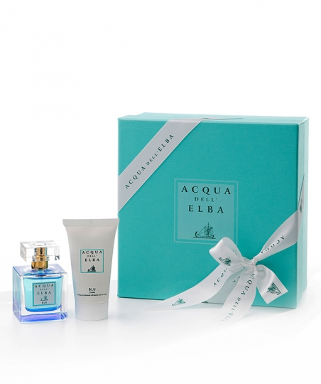 Gift Box Eau de Parfum 50 ml + Moisturising Body Cream 50 ml • Blu Fragrance Women