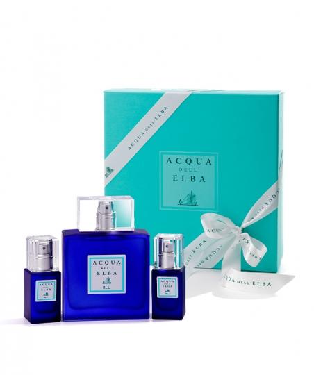 Confezione regalo Eau de Toilette Uomo Blu 100 ml + Eau de Toilette Uomo Blu 15 ml