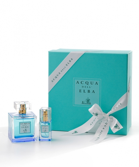 Gift Box Eau de Toilette 100 ml + Eau de Toilette 15 ml • Blu Fragrance Women