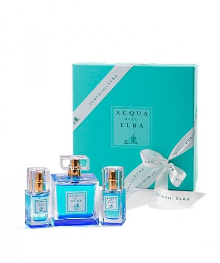 Confezione regalo Eau de Toilette Donna Blu 100 ml + Eau de Toilette Donna Blu 15 ml