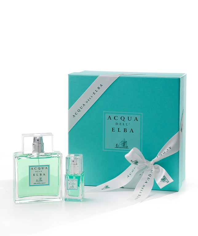 Gift Box Eau de Toilette 100 ml + Eau de Toilette 15 ml • Arcipelago Fragrance Men