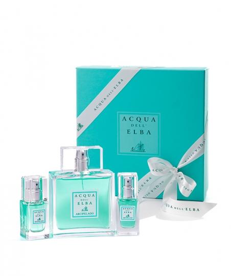 Confezione regalo Eau de Parfum Arcipelago Uomo 100 ml + Eau de Parfum Arcipelago Uomo 15 ml