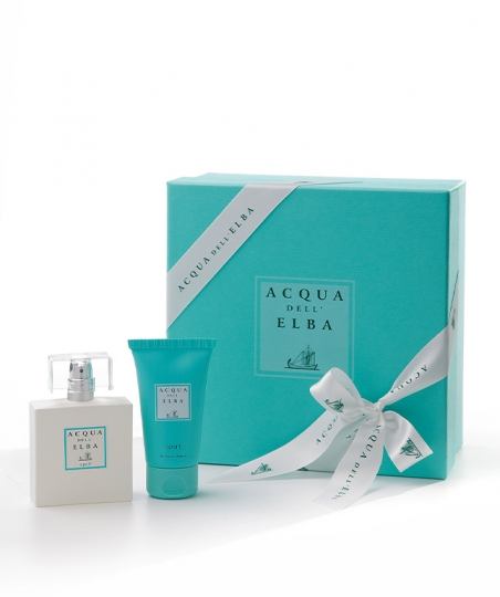 Gift Box Eau de Parfum 50 ml + Bath and Shower Gel 50 ml • Sport for Him and for Her