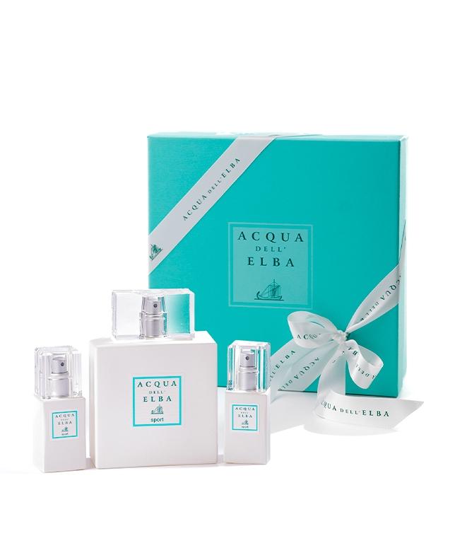 Gift Box Eau de Parfum 100 ml + Eau de Parfum 15 ml • Sport for Him and for Her