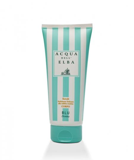 Scrub Esfoliante Delicato per il Corpo Blu Donna • 200 ml