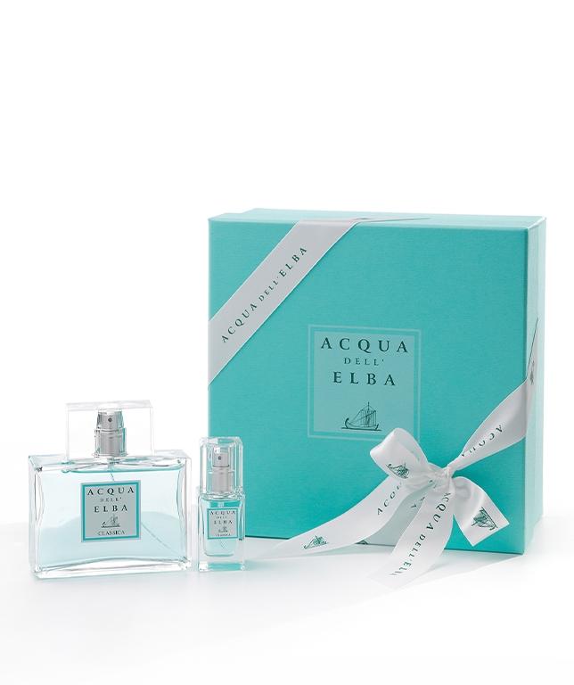 Confezione Regalo Eau de Parfum Classica Uomo 100 ml + Eau de Parfum Classica Donna 15 ml