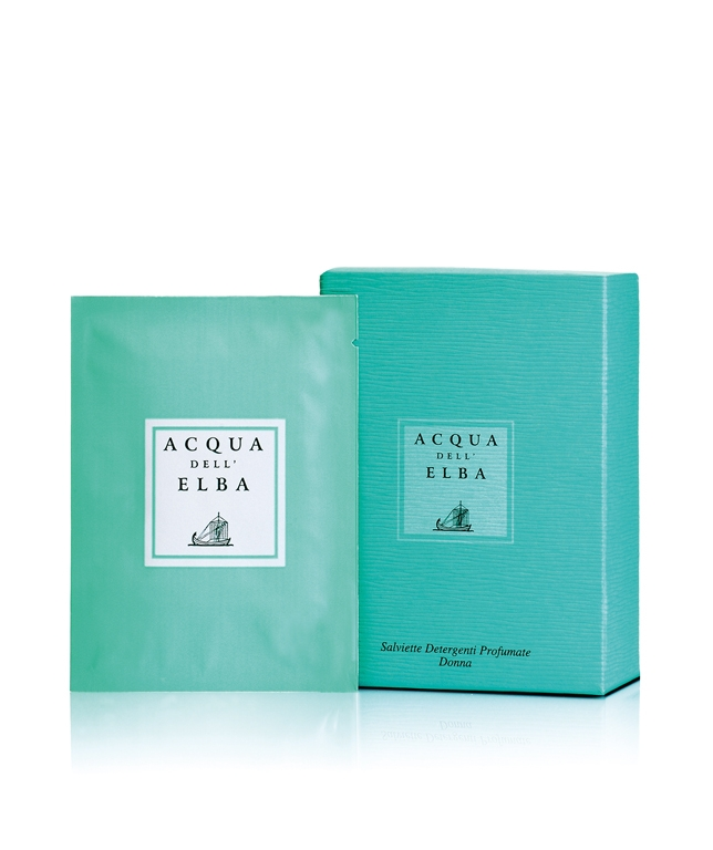 Classica Perfumed Refreshing Wet Wipes Woman