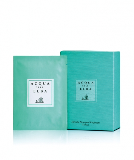 Perfumed Refreshing Wet Wipes • Classica Fragrance for Women • 6 pcs