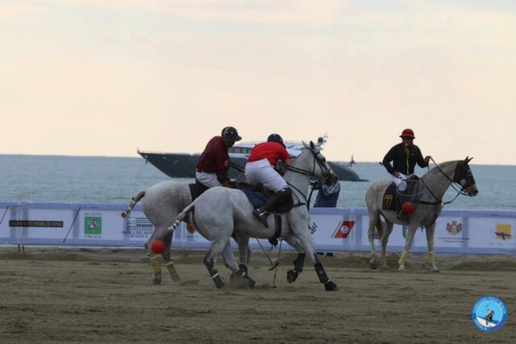 Le gare sulla spiaggia