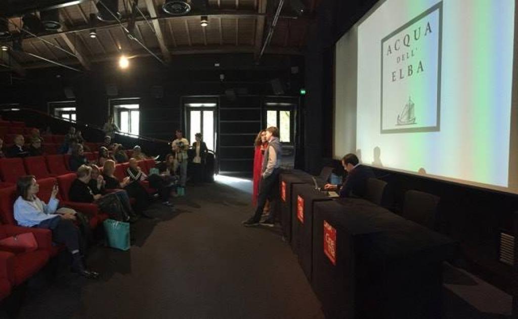 Acqua dell'Elba parla ad Aqua Film Festival