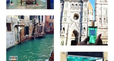 POSTCARD PROFUMATE...IN GIRO PER L'ITALIA!