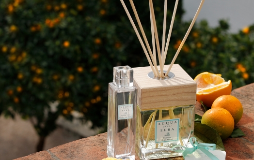 """GIARDINO DEGLI ARANCI"" HOME FRAGRANCE DIFFUSER, THE RELAXING PLEASURE OF RETURNING BACK HOME."