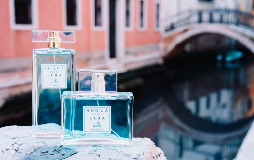 ACQUA DELL'ELBA IN VENICE: THE SEA, PERFUME, THE CARNIVAL