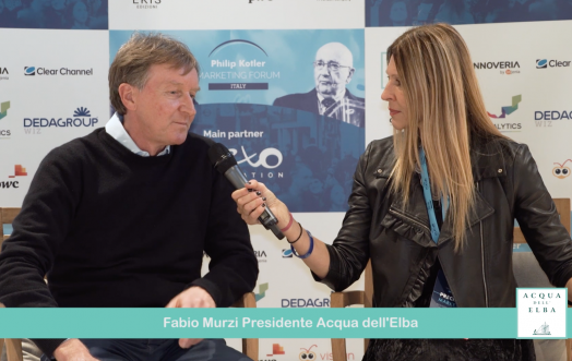 THE ESSENCE OF MARKETING: FABIO MURZI, PRESIDENT OF ACQUA DELL'ELBA.