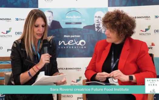 THE ESSENCE OF MARKETING: SARA ROVERSI, FOUNDER OF THE FUTURE FOOD INSTITUTE.