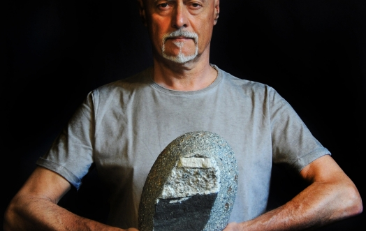 RETURNING TO STONE: A DIALOGUE WITH ALFREDO GIOVENTU'.