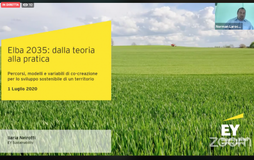 SUSTAINABILITY AND LOCAL TERRITORY: A SUMMARY OF THE #ELBA2035 WEBINAR
